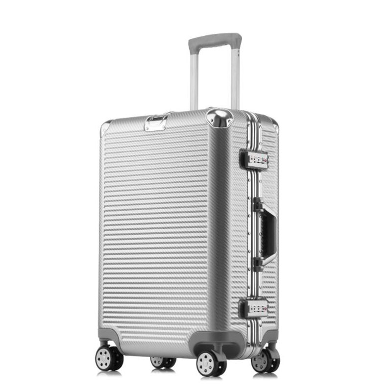 Luggage & Bags Carrylove 20 24 Men Aluminum Frame Abs Rolling Luggage Tsa Spinner Kinder Koffers Travel Trolley Bag Luggage & Travel Bags