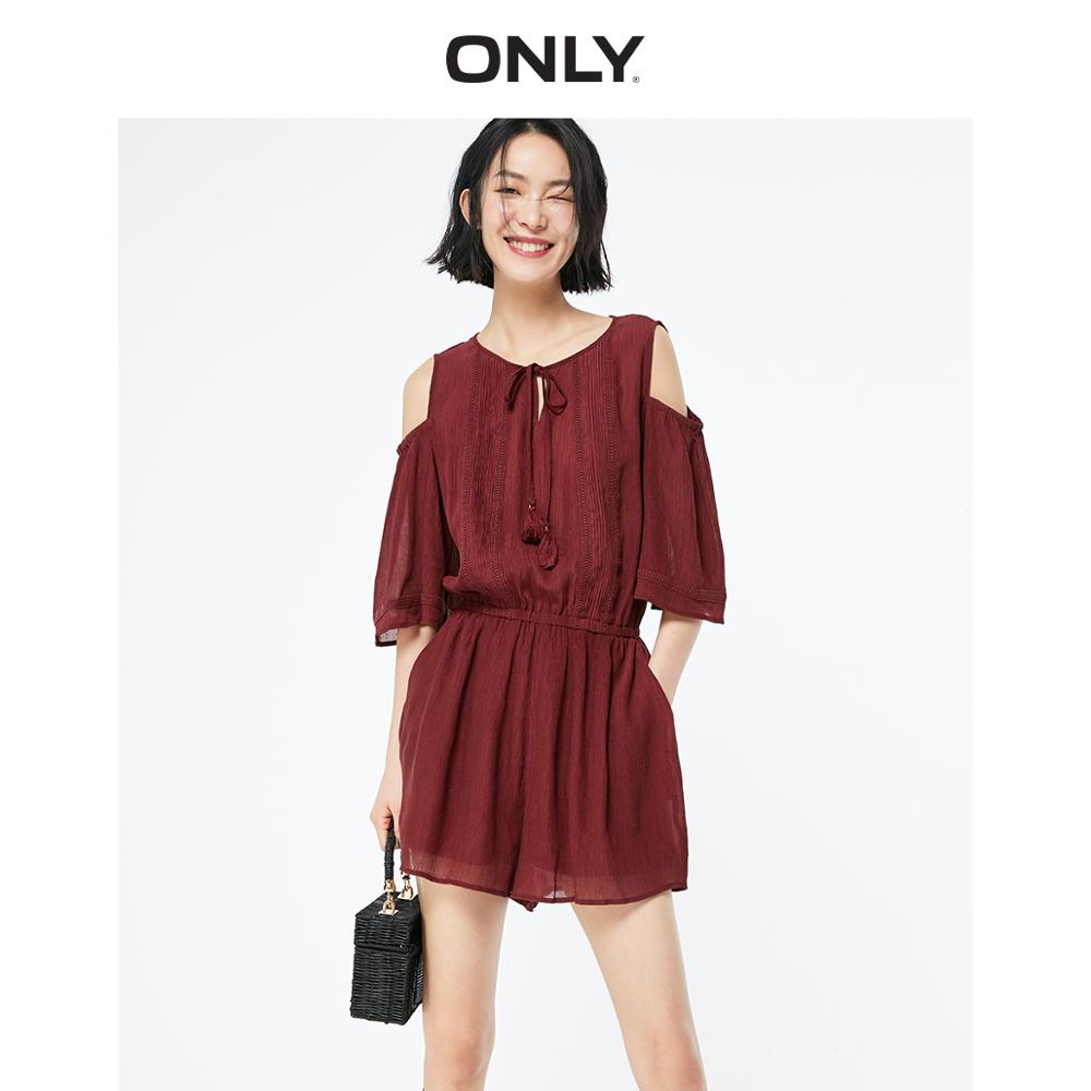 ONLY 2019 Spring Summer Women's Loose Fit Shorts |119178525