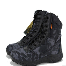 Men Breathable Camouflage Boots Special Forces Tactical Military Mens Tactical Boots High Top Safety Work Shoes Combat Boots