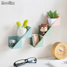 4pcs/lot NOOLIM Nordic Wall Hanging Decorative Storage Rack Bathroom and Kitchroom Wall Decor Home Storage Holders & Racks(China)
