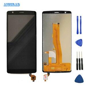 Image 1 - 1440*720 Zwart 5.5 Voor blackview A20 Lcd scherm + Touch Sccreen Digitizer Vergadering Telefoon Accessoires EEN 20 + lijm + gereedschap