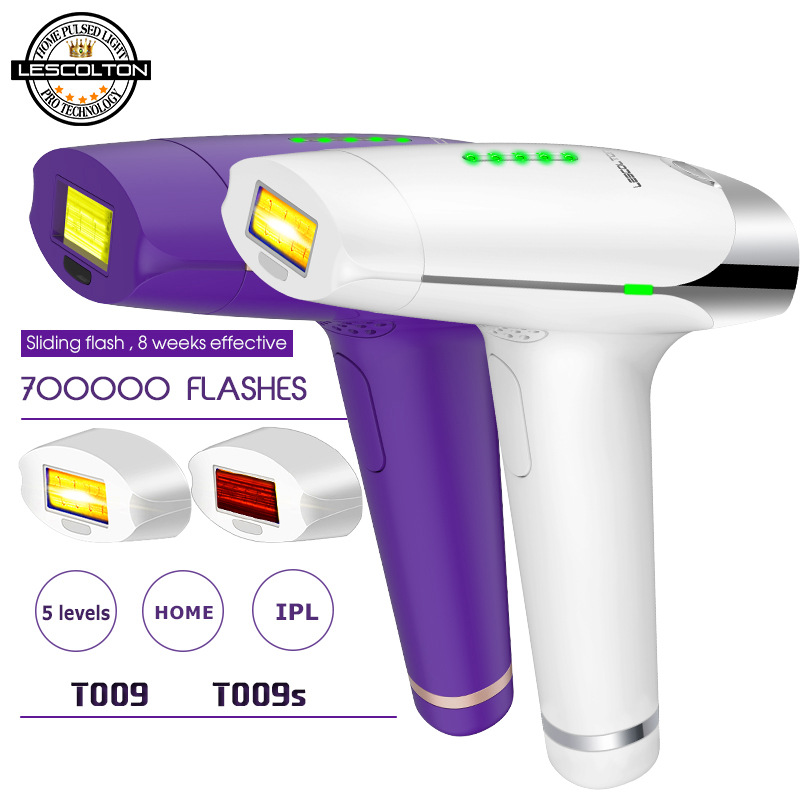 Image 5 - Lescolton 3in1 700000 Pulsed IPL Laser Hair Removal Device Permanent Hair Removal IPL Laser Epilator Armpit Hair Removal Machine-in Epilators from Home Appliances
