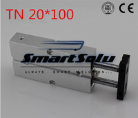 Free Shipping TN 20*100 Dual Action Cylinder TN Series 20 100 With Magnet Pneumatic Cylinder