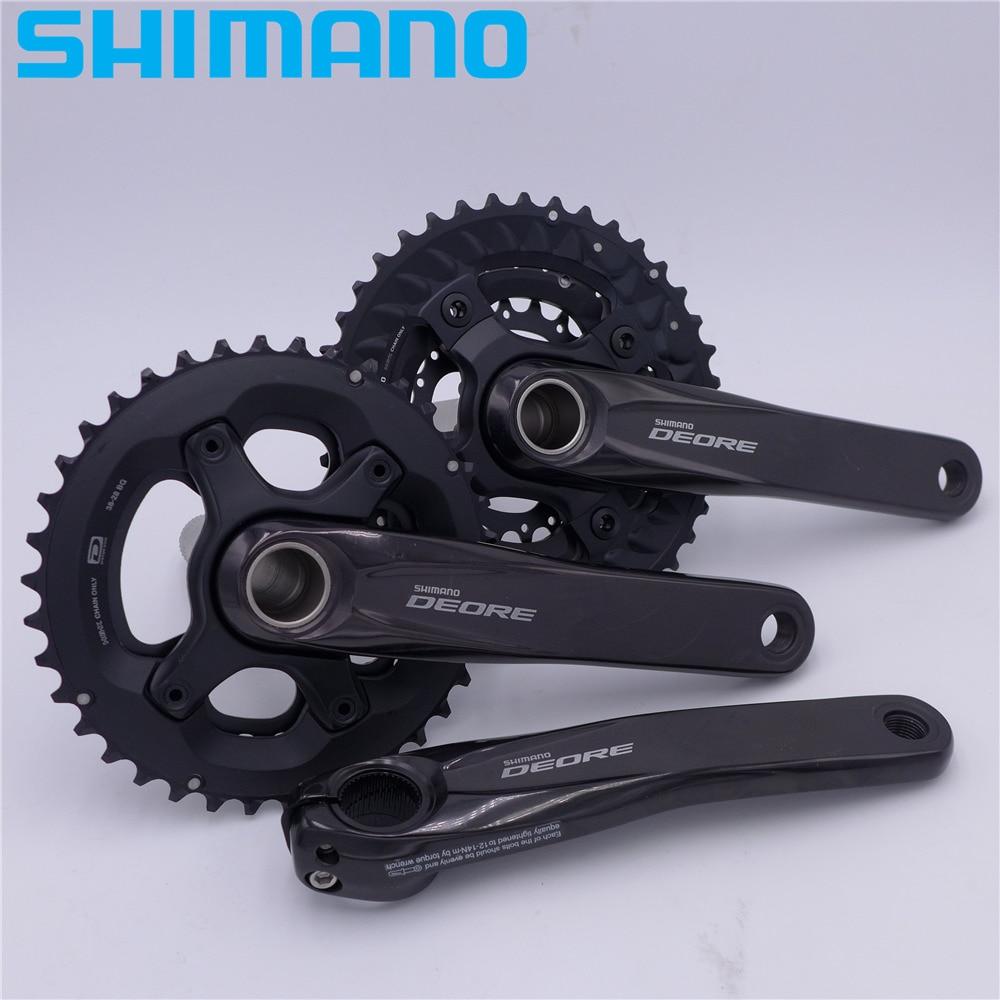 SHIMANO Deore FC M6000 Crankset HOLLOWTECH II 2/3x10s 20/30 Speed цена