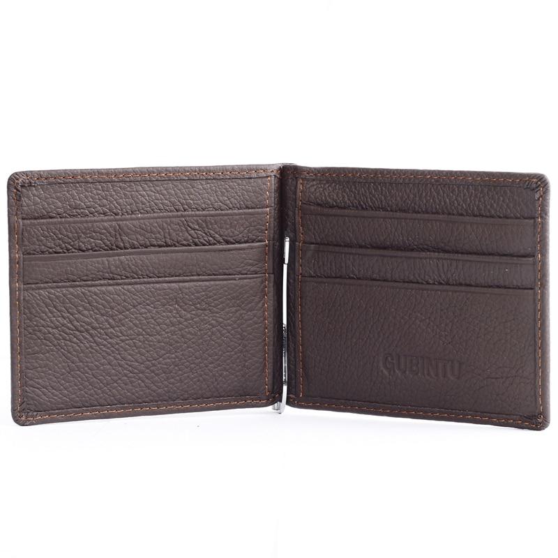 dinheiro de couro macio com Feature : Color Fashion Simple Estilo, Soft And Comfortable Leather