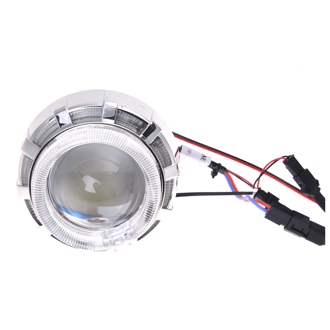 LED Projector Kit Hi/Low Beam Headlight For Motorcycle Blue Red Angel Devil Eyes гарнитура hi fun hi head red blue
