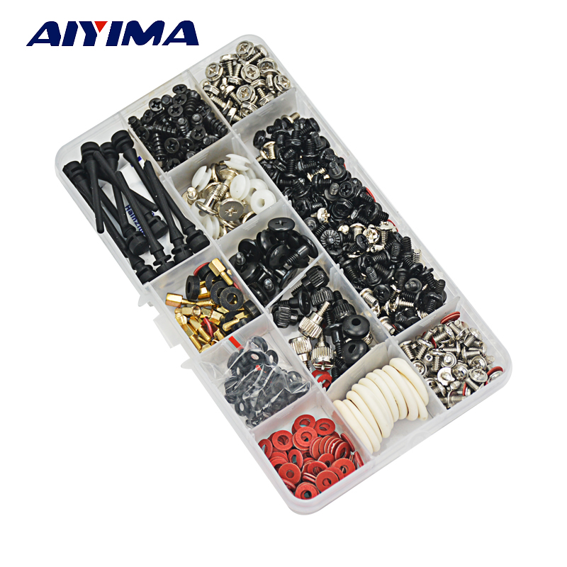 AIYIMA 535pcs 21kinds Computer Screws for Motherboard PC Case CD-ROM Hard disk Notebook Screw change up intermediate teachers pack 1 audio cd 1 cd rom test maker