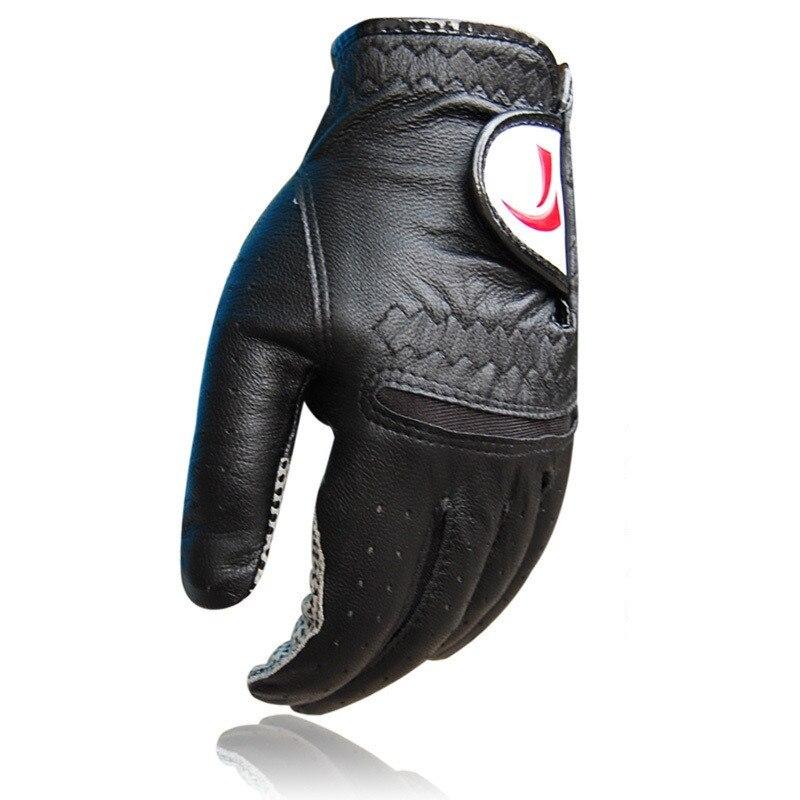 Luvas de Golfe de Couro Luvas de Golfe Genuíno Masculino Esquerda – Direita Esportes Aperto Anti-derrapagem Luvas Esportivas D0635 1 Pçs Mão