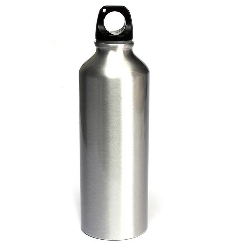 1000ml 500ml Aluminium Drinking Water Bottle Outdoor Sport Kettle Bicycle Climbing Hiking Travel Supplies Christmas Gift