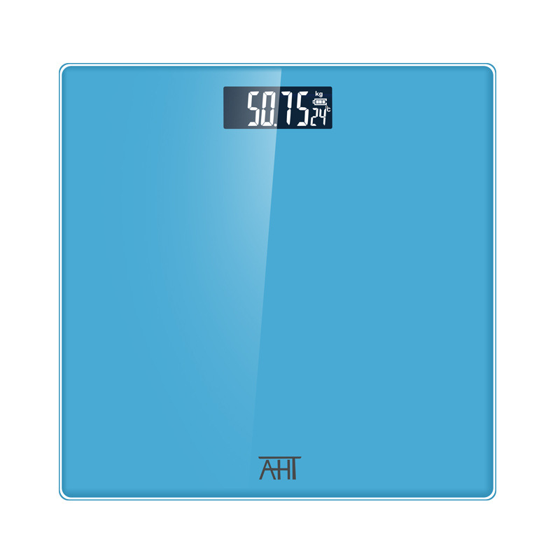 Battery Electronic Digital Scale Home Electronics Body Weight Scale for Women Man Health Weigh Glass Bathroom Household 180KG
