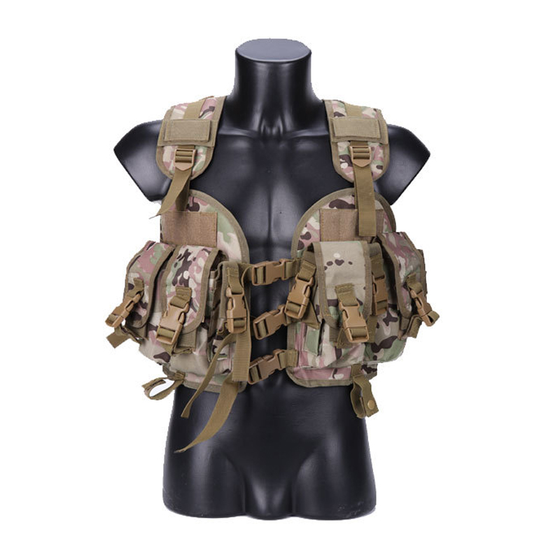 The Seal Men Tactical Hunting Armor Vest Combat CS Wargame Military Camouflage Waterproof Water Bag Pouches Tactical Gear in Hunting Vests from Sports Entertainment