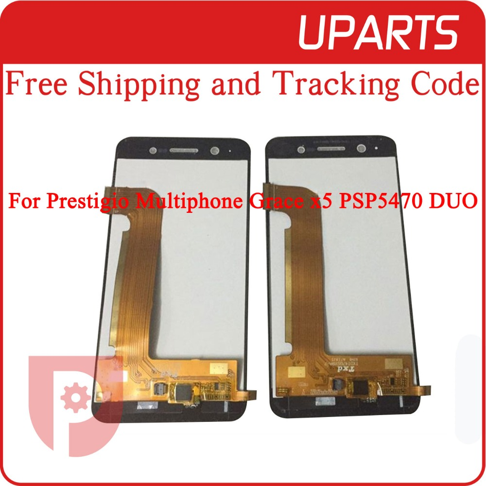High Quality For Prestigio Multiphone Grace x5 PSP5470 DUO LCD Display Touch Screen Glass Digitizer Assembly Replacement