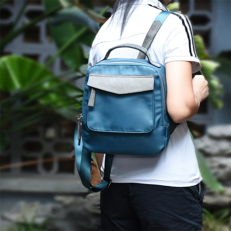 Backpack Women Oxford Bag Women Bag Small Female Backpack Mochila Feminina School Bags for Teenagers Solid Bags цена