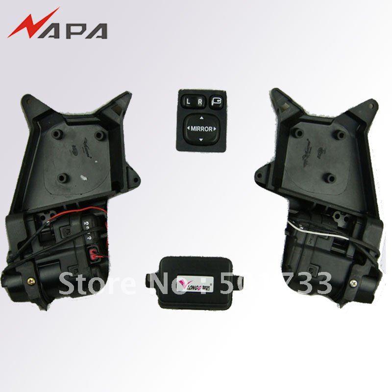 Automatic Side Mirror Folding kit Power Fold Mirror for Toyota RAV4 Corolla Prado Landcruiser