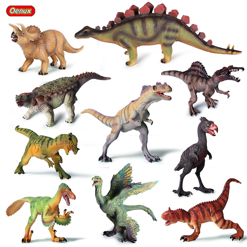 Dinosaurios Figuras de animales prehistóricos grandes dinosaurios Modelo de juguete figura de acción