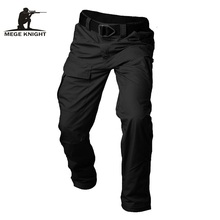 Mege Brand Tactical Mens Ripstop Pants Military Casual Cargo SWAT Combat Clothing Four Seasons Trousers With Multi Pockets