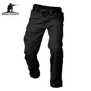 Mege Brand Tactical Men's Ripstop Pants Military Casual Cargo SWAT Combat Clothing Four Seasons Trousers With Multi Pockets - discount item  46% OFF Pants