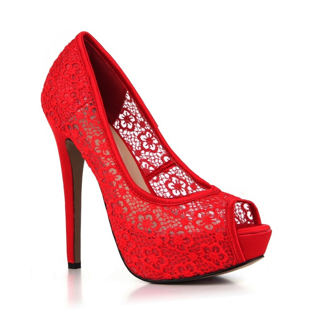 Lace Flowers Summer High Heels New Fashion Sequin Party Wedding Shoes Woman  Sexy Open Toe Platform e4095be1ebea