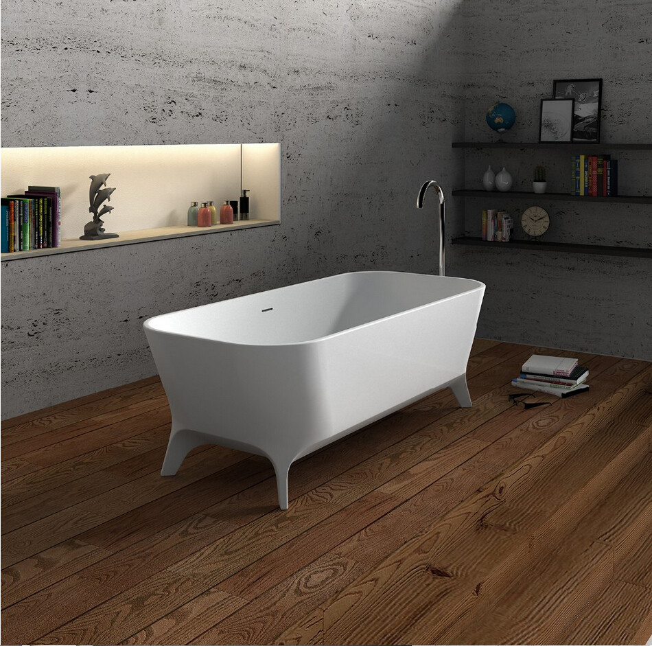 1800x800x600mm FREESTANDING SOLID SURFACE BATHTUB CORIAN FREESTANDING COLOURFUL TUB 65115-1220