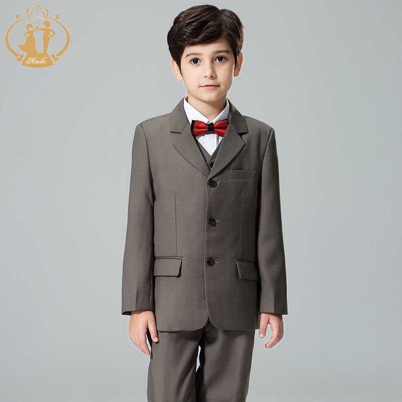 Nimble Suit for Boy Formal Boys Suits for Weddings Terno Infantil Costume Enfant Garcon Mariage Baby Boy Suit Disfraz Infantil babyfeet children kids martin boots leather baby boy booties girls shoes tenis infantil chaussure enfant garcon calzado infantil
