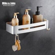Aluminium de l'espace Salle De Bains plateau support cosmétique avec levier unique salle de bains étagère rack Ménages Rack salle de bains étagère d'angle