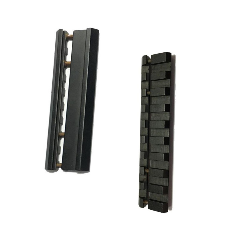 New Aluminum Alloy PicatinnyWeaver Snap-in Adaptor Hunting Accessories Rail 11mm 20mm Hunting Accessories