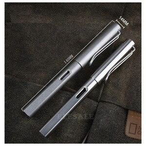 Image 4 - גבוהה סוף 2 IN 1 טיטניום TC4 טקטי מזרקת עט הגנה עצמית עסקים עט כתיבה חיצוני EDC כלי מתנה לחג המולד