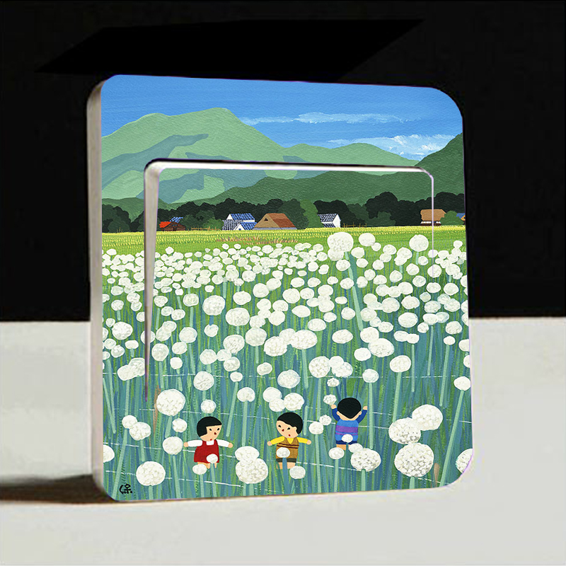 1pc Switch Cover Decor Decals Light Switch Wall Stickers Art Mural