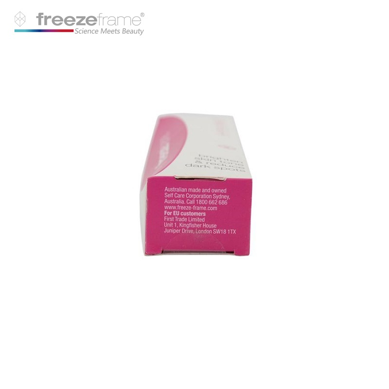 Freezeframe Hyper Whitening Cream Reduce Dark Spots Pigmentation Darkness for Bright Radiant Even Skin Tone Reduce darkness in Facial Self Tanners Bronzers from Beauty Health
