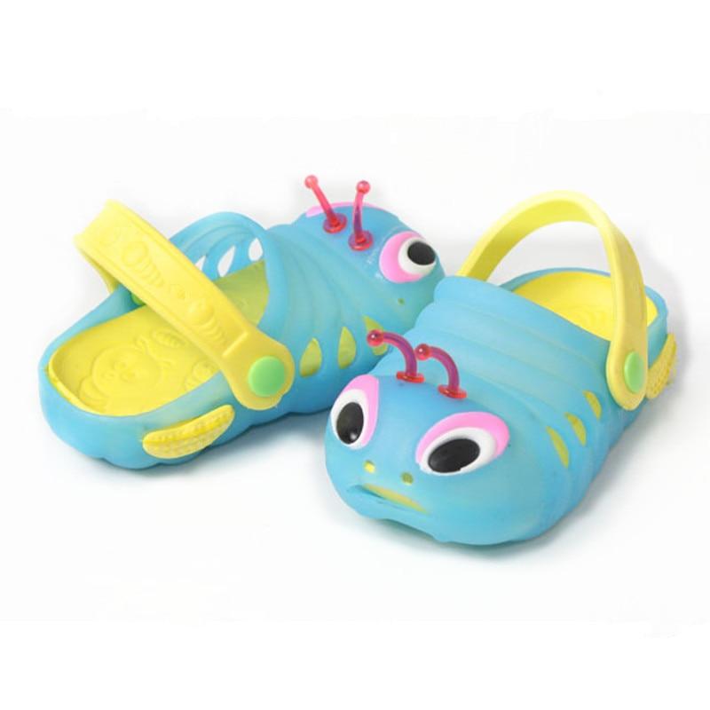 Mizi Terjojo baby Girls Boys Sandals Children Summer Cool Sandalia Infantil Kids 3D Stereoscopic Caterpillar Pattern Shoes JM25