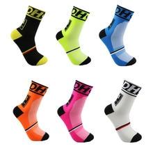 DH Спортивные Новые велосипедные носки, высокое качество, профессиональные брендовые дышащие спортивные носки, велосипедные носки, для улицы, для гонок, большие размеры, для мужчин и женщин