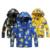Año nuevo Minion Chicos Abrigo de Invierno ropa de Abrigo Niños chaqueta de Invierno para el muchacho Caliente de Dibujos Animados de Algodón Capa de La Manera Caliente Para 3-10 T