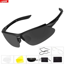 BATFOX Cycling Glasses Polarized Sports Bicycle Sunglasses I