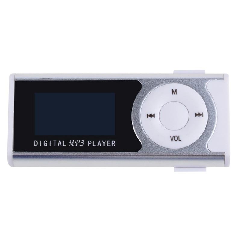 Nuevo mini clip Pantalla LCD Reproductor de música MP3 Reproductor - Audio y video portátil - foto 5