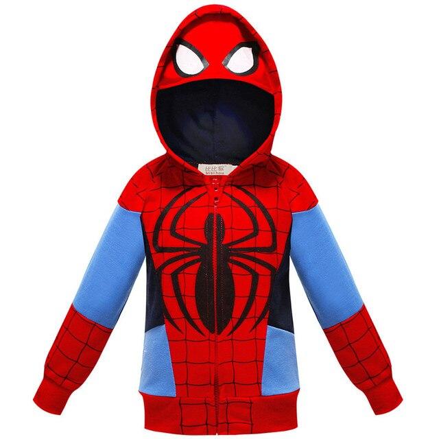 The Avengers Endgame Marvel Superhero Captain America Iron Man Thor Hulk Sweatshirt for Kids 2