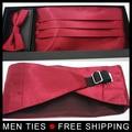 Retail 1 Unidades con regalo boxer Hombres pajaritas set (pajarita Faja y toalla En El Pecho) sistemas de la boda tamaño Libre y envío libre