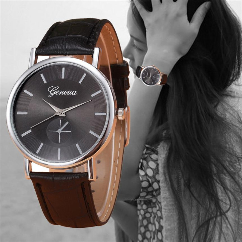 2018 fashion watch men Retro Design Leather Band Analog Alloy Quartz Wrist Watch erkek kol saati casio watch men s business casual waterproof watch mtp 1383d 7a mtp 1384d 1a mtp 1384d 7a mtp 1384l 1a mtp 1384l 7a