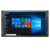 Industrial Monitor 13.3 Inch 1920*1080 Open Frame Full HD Monitor with VGA/HDMI/USB/AV/BNC Two Speakers