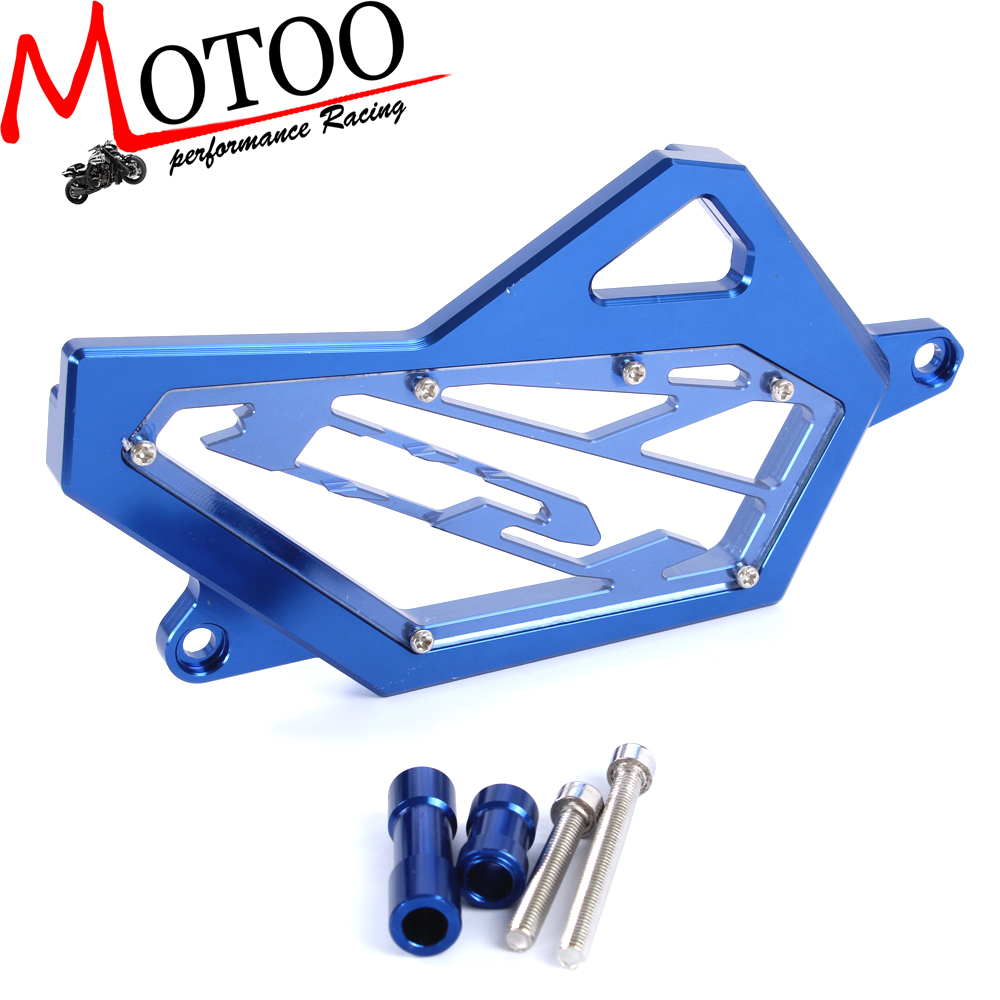 Motoo - free shipping CNC Front Sprocket Cover Chain Guard Protector For YAMAHA YZF R25 R3 2014 2015 2016 chain sprocket cover assy for chainsaw 61 262 266 268 272 free shipping partner chain brake parts 503 73 66 01