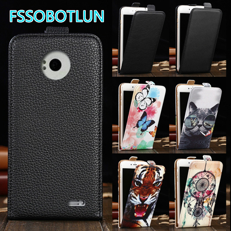 Factory direct! For <font><b>DNS</b></font> <font><b>S4501</b></font> S4501M Luxury Cartoon Painting vertical phone cover flip up and down PU Leather Case image