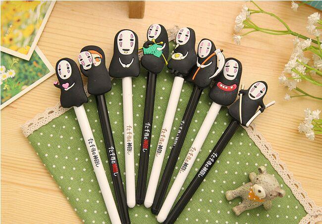 New Arrival Japan Hayao Miyazaki Cartoon Gel Ink Pen Promotional Gift Stationery Novelty Needle Fountain Pen for office shchool