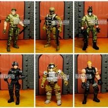 Chap Mei Elite Force 1:18 Military Action Figure Doll Statue