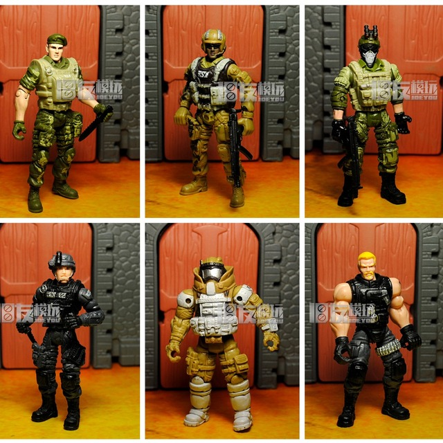Chap Mei figurine daction militaire, figurine daction militaire 1:18, figurine de soldat SAS du service aérien spécial de larmée britannique 3.75