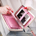 High-heel shoe long Women Wallet Female Card Holders Cellphone Cases Pocket Gifts Money Bag Ladies Day Clutch Purse Wallets box