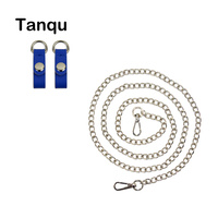 TANQU New Colorful Shoulder Bag Chain Hook With Faux Leather Strap Clip Closure For OPocket Obag