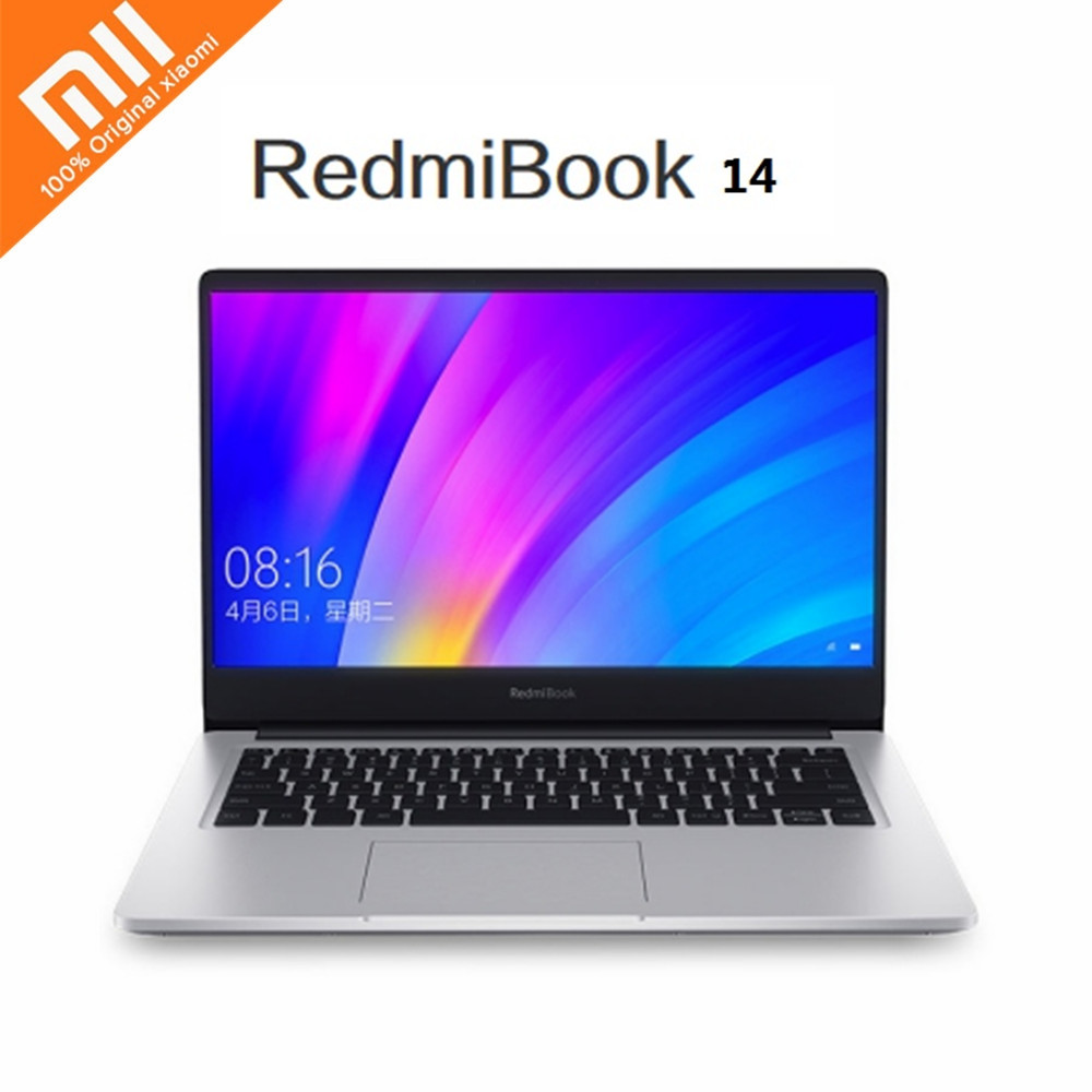 Xiaomi RedmiBook 14 inch Laptop Windows 10 OS Intel Core i7-8565U Quad Core 1.8GHz CPU 8GB RAM 512GB SSD NVIDIA GeForce MX250(China)