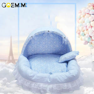 Princess Bed House Kennel Washable Cotton Pet Cute Pet-Products Puppy Dog Cat Comfortable