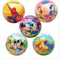 6cm sponge ball elastic ball cartoon pattern soft and comfortable soft child's favorite toy ball Free Shipping