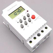 KG316T-II DIN RAIL DIGITAL PROGRAMMABLE timer time switch 220VAC 25A time switch din rail time switch