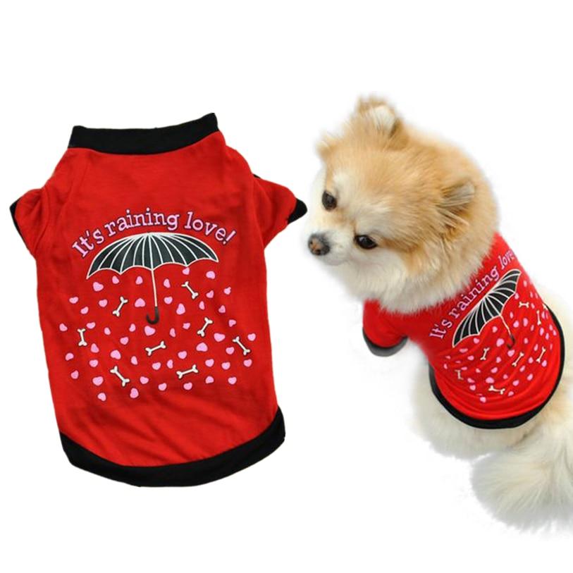 1pc huisdier kleding voor kleine honden katten XS-L zomer huisdier - Producten voor huisdieren